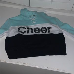 New girls Cheer sweatshirt from Justice size 12